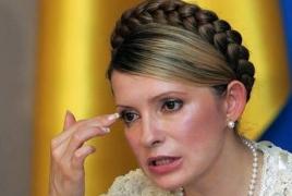 Jailed Ukrainian ex-PM on craving strike
