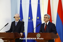 European Council arch urges pacific allotment of Karabakh conflict