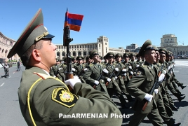 Armenian armed army central manners out craving incidents in army
