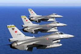 Turkish warplanes strike N. Iraq