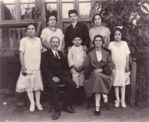Boyadjian family in 1921 300x246 One Man's Attempt to Capture Ethiopian Armenians' Dying Legacy