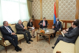 Armenian President, OSCE MG Co-chairs plead Karabakh settlement