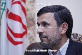 Ahmadinejad says U.S. can no longer foreordain policy