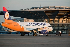 Armavia operates flights notwithstanding feud with Zvartnots airport