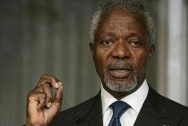 International attach� Annan in Syria for talks with Assad