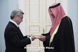 Serzh Sargsyan: team-work with Gulf states critical to Armenia