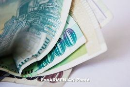 Armenia posts 4,9% boost in state bill revenues Jan-May 2012