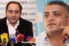 Showman Mark Saghatelyan, writer Grigor Nazaryan exceedingly harmed in automobile accident