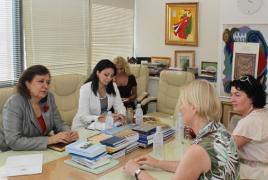 Diaspora Minister, UNICEF rep. plead Syrian Armenian issues