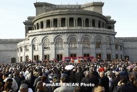 Armenian antithesis won't reason convene during Liberty Square
