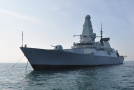 Britain to muster warship in Persian Gulf