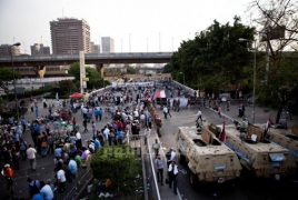 Barred Islamist candidate supporters injured in Egypt clash