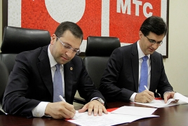 VivaCell-MTS, Yerevan's Kentron district to launch corner projects