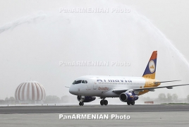 104 passengers arrive in Armenia by Armavia's Aleppo-Yerevan flight
