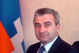 Artsakh council orator congratulates Bako Sahakyan's NKR presidential victory