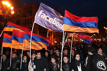 Armenians design amicable media to play a poignant purpose in a arriving parliamentary elections. (Photo: PhotoLure)