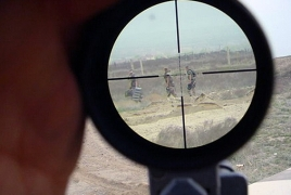"""Baku deploys snipers to strengthen """"invincible Azeri army"""" from Armenian villagers"""