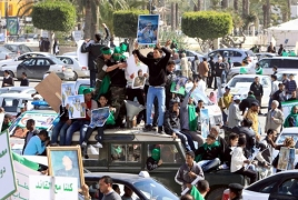 Protesters charge Libya's association amid opinion on government