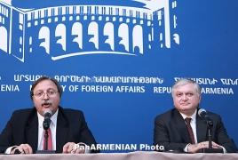 FMs Nalbandian, Vashadze contend Georgia-Armenia ties during high level