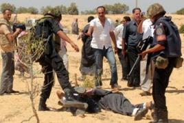 3 Egyptian policemen die in Sinai attack