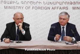 Armenian FM manners out Turkey's intervention in Karabakh settlement