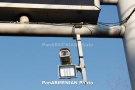 30 trade notice cameras set adult in Yerevan's streets