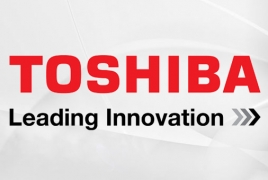 Japan's Toshiba full-year net distinction down 46.5%